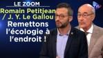 Remettons l'écologie à l'endroit ! – Romain Petitjean / Jean-Yves Le Gallou – TVL