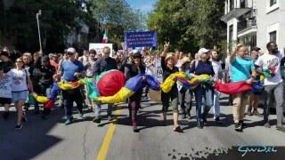 Timelaps de la Marche du 12 septembre 2020 à Montréal FDDLP