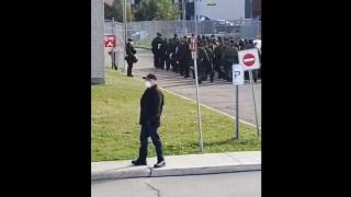 ActuQc : Police Antiémeute pour un Regroupement Pacifique Rimouski – 3 Octobre