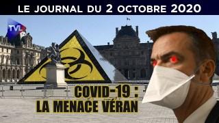 Covid-19 : la menace Véran – JT du vendredi 2 octobre 2020