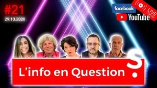 Info en Questions #21 – LIVE