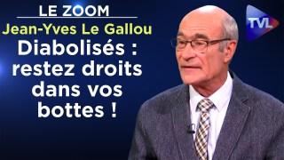 Jean-Yves Le Gallou – Diabolisés : restez droits dans vos bottes ! – Le Zoom – TVL