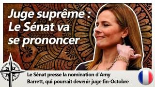 Le vote du Sénat pour Amy Coney Barrett aura lieu avant l'élection !