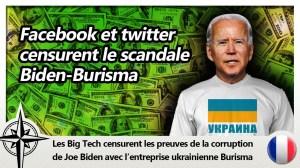 Les preuves contre Biden censurées par Facebook et Twitter