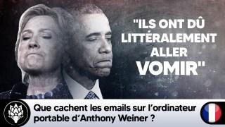 Que cachent les emails sur l'ordinateur portable d'Anthony Wiener ? #HillaryClinton #Obamagate