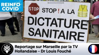 Reportage sur Marseille par la TV hollandaise – Interview de Louis Fouché