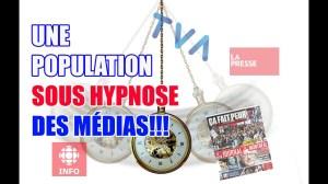 UNE POPULATION PLONGÉE DANS L'HYPNOSE DES MÉDIAS ET LA PEUR DE LA BIBITTE CHINOISE!!!