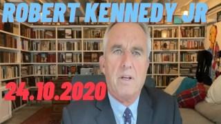 [VOSTFR] Robert F. Kennedy, Jr : Message pour la liberté et l'espoir 24 oct. 2020 [CENSURÉ]