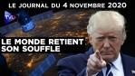 Election américaine : le monde retient son souffle – JT du mercredi 4 novembre 2020