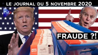 Election américaine : Trump face à la fraude ? – JT du jeudi 5 novembre 2020
