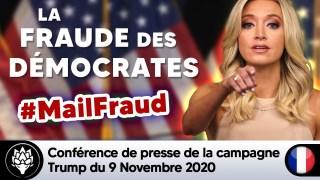 ?? Elections américaines ⭐ Conférence de presse de la campagne Trump – 9 Nov 2020