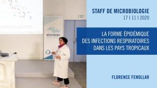 La forme épidémique des infections respiratoires dans les pays tropicaux