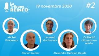 La Tribune REINFO #2 – 19/11/2020 – Avec Alexandra Henrion Caude, Olivier Soulier…