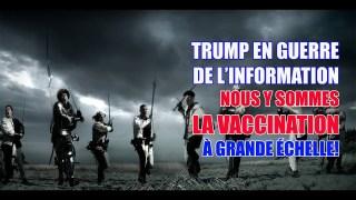 TRUMP EN GUERRE CONTRE LA GAUCHE RADICALE ET NOUS Y SOMMES…LA VACCINATION À GRANDE ÉCHELLE!!!