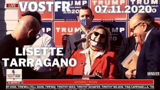 [VOSTFR] Conférence de presse à Philadelphie le 7 novembre, Lisette Tarragano témoigne