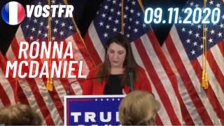 [VOSTFR] Ronna McDaniel sur la fraude électorale et les déclarations sous serment, 9 Novembre 2020.