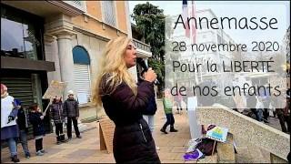 Annemasse – pour la LIBERTÉ de nos enfants – 28.11.20