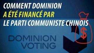 Comment le parti communiste chinois a financé le système de vote Dominion