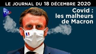 Covid : Les malheurs de Macron – JT du vendredi 18 décembre 2020