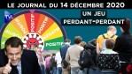 Dépistages Covid : La roue de l'infortune ? – JT du lundi 14 décembre 2020