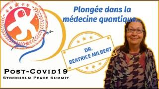 Intervention du Dr. Béatrice Milbert au sommet pour la paix de Stockholm