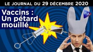Les Français écrasés entre le vaccin et le confinement – JT du mardi 29 décembre 2020