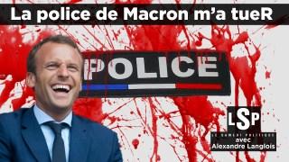 Loi sécurité globale, violences : où en est la Police ? Alexandre Langlois dans Le Samedi Politique
