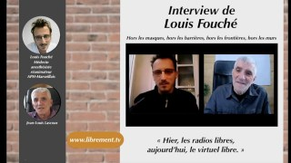 Louis Fouché, médecin anesthésiste et Jean-Louis Lascoux, auteur, rédacteur, chroniqueur