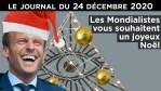 Noël en Macronie – JT du jeudi 24 décembre 2020