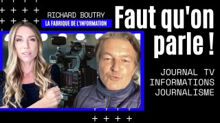 Richard Boutry : La fabrication d'un journal TV