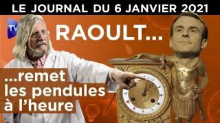 Covid, variant, vaccin : ce que dit le Pr Raoult – JT du mercredi 6 janvier 2021