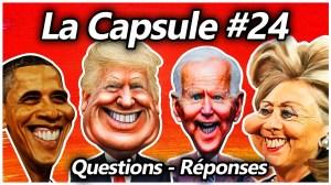 La Capsule #24 – Questions-réponses