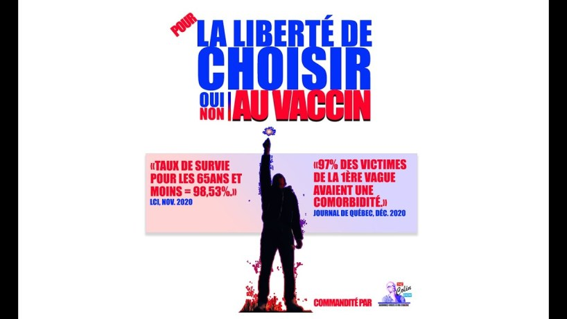 LA LIBERTÉ DE CHOISIR! ATTENTION NOUS N'AURONS PLUS LE CHOIX DEMAIN!