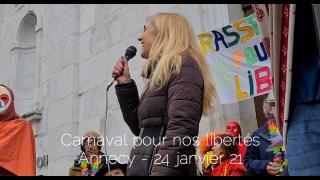 CARNAVAL D'ANNECY 24.01.21 – Un vent de liberté souffle comme jamais