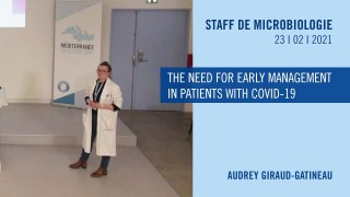 The need for early management in patients with COVID-19