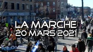 ActuQc : La Foule : Marche du 20 mars 2021 – Montage