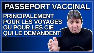 Arruda croit que le passeport va principalement servir pour les voyages.