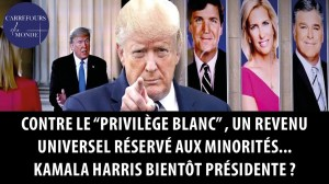 """Contre le """"privilège blanc"""", un revenu universel réservé aux minorités – Harris bientôt présidente?"""