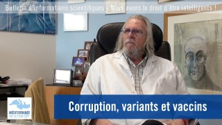 Corruption, variants et vaccins