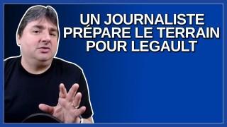 Question alarmiste d'un journaliste qui semble plutôt préparer le terrain pour Legault.