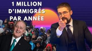 1 million d'immigrés par année [EN DIRECT]