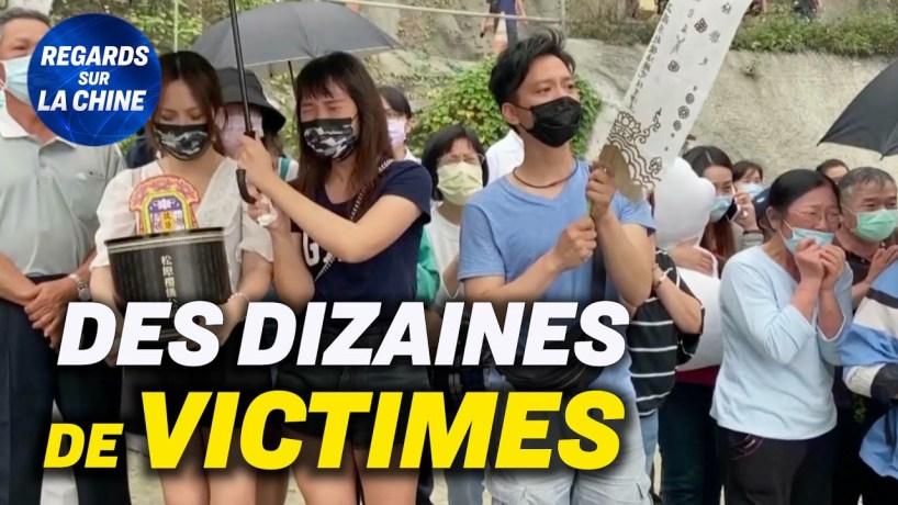 Accident de train à Taïwan : 51 morts ; Une ville confinée à la frontière sino-birmane