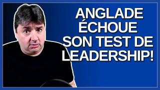 Dominique Anglade vient d'échouer son test de leadership. Dit M. François Legault.