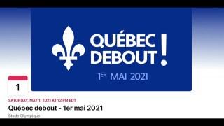 La marche du 1er mai à Montréal