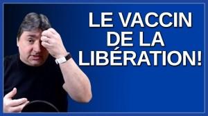 Le vaccin c'est notre libération. Dit le premier ministre du Québec M. François Legault.