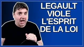 M. François Legault viole l'esprit de la loi.  Dit Mme Dominique Anglade.