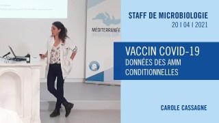 Vaccin COVID-19 – Données des AMM conditionnelles