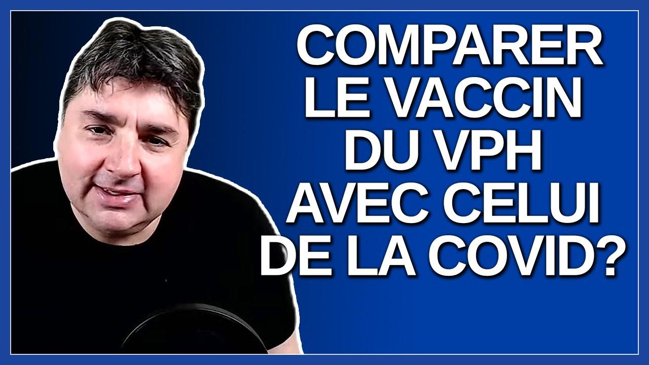 Arruda compare le vaccin du VPH pour les enfants avec celui de la Covid.