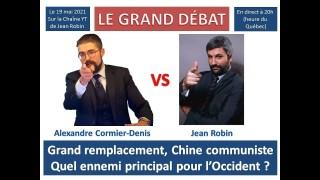 Débat ACD c. Jean Robin sur la Chine communiste et le Grand remplacement