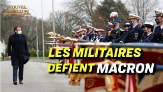 Des hauts gradés dénoncent le péril de la France ; le port du masque serait peu efficace